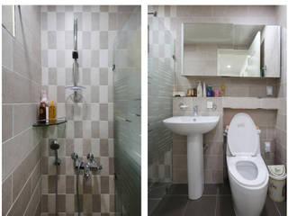 [경상도 울산] 텃밭을 가꾸는 소소한 전원생활 모던스타일 거실 by 한글주택(주) 모던