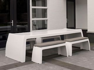 ONE TO SIT - indoor & outdoor furniture حدائقأثاث بلاستيك White