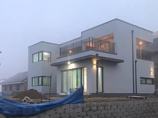 [현장라이브] 경기도 양평군 전원주택 시공현장 by 한글주택(주) 모던