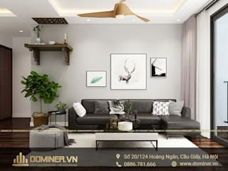Thiết kế nội thất chung cư An Binh City phong cách hiện đại – chị Trang bởi Thiết kế - Nội thất - Dominer