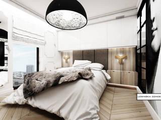 Dormitorios modernos de LESINSKA CONCEPT Moderno