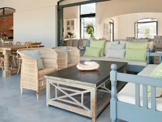 New Build House on Hermanus Golf Course:  Patios by Overberg Interiors