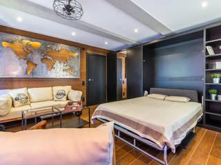 Industrial style bedroom by Производственная фирма 'Живая Сталь' Industrial
