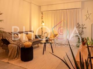 Calle Churruca Salones de estilo moderno de Bhoga Home Staging Moderno