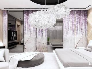ARTDESIGN architektura wnętrz Dormitorios de estilo moderno
