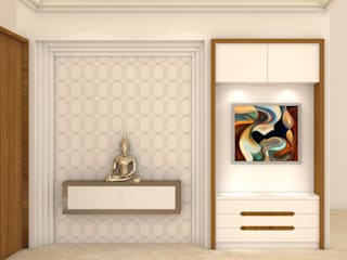 Modern Corridor, Hallway and Staircase by Midas Dezign Modern