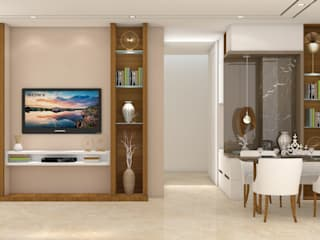 Living room by Midas Dezign, Modern