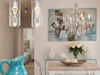 Beach House Glam Guest House - Onrus:  Dining room by Overberg Interiors