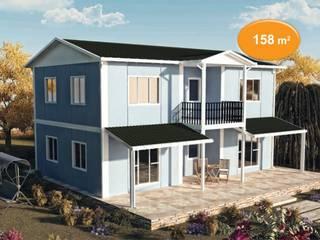 158 m2 Çift Katlı Prefabrik EV EMİN PREFABRİK DOĞU Klasik