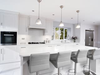 John Ladbury kitchen in Hertfordshire John Ladbury and Company KitchenLighting