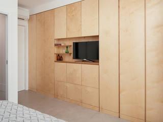 manuarino architettura design comunicazione Minimalist bedroom Wood Wood effect