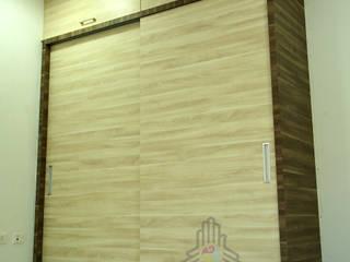 Bloomfield Ecstasy, Tellapur:  Bedroom by Meticular Interiors LLP,