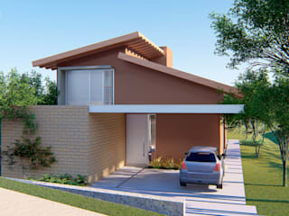 Casa Pomar por ARAMADO arquitetura+interiores Moderno