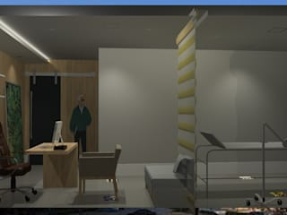 M2T1 Modern style study/office