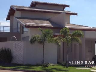 RESIDÊNCIA MT Casas modernas por ALINE SASSE Moderno