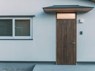 Projekty,  Dom z drewna zaprojektowane przez 株式会社シーンデザイン建築設計事務所
