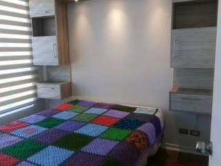 Dormitorio Dormitorios de estilo minimalista de Muebles y vinilos Minimalista