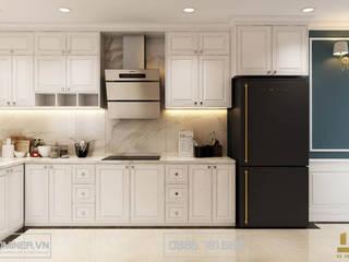 Thiết kế nội thất chung cư VinHomes Gardenia - Anh Cường - 120m2 bởi Thiết kế - Nội thất - Dominer