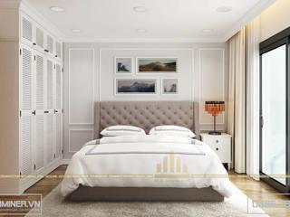 Thiết kế nội thất chung cư GoldMark Nhà Chị Trang - 140m2 bởi Thiết kế - Nội thất - Dominer