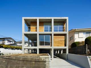 บ้านเดี่ยว โดย 建築設計事務所 可児公一植美雪/KANIUE ARCHITECTS, โมเดิร์น