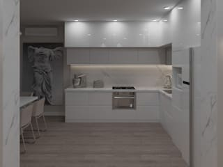 кухня столовая: Встроенные кухни в . Автор – TiM interior design