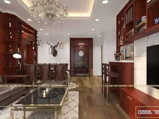Thiết kế nội thất chung cư Vinhomes Gardenia - anh Thành - 110m2 bởi Thiết kế - Nội thất - Dominer