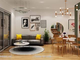 Thiết kế nội thất chung cư Park Hill7 nhà chị My - 55m2 bởi Thiết kế - Nội thất - Dominer