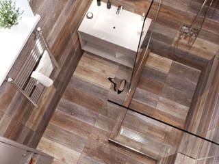 Grey colors house. Bathroom & shower Ванная комната в стиле минимализм от Дизайн студия Марии Зерщиковой Минимализм