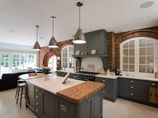 Industrial style kitchen de John Ladbury and Company Industrial