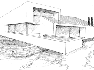 Casas unifamilares  por Otto Medem Arquitecto vanguardista en Madrid