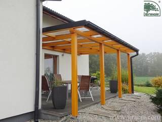 Zadaszenie tarasu Gracja: styl , w kategorii Ogród zimowy zaprojektowany przez GRACJA SP. Z O.O.