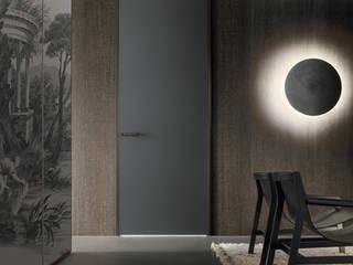 Rimadesio Link plus exclusieve Italiaanse glazen binnendeuren op maat:  Glazen deuren door Noctum, Modern
