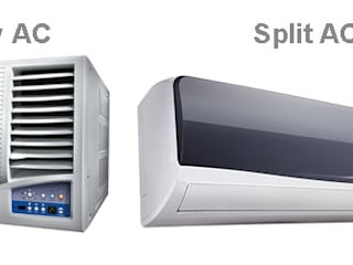 Split & Window AC Installation Services  in India	 :  Bungalows by Fire Detection & Alarm System in India