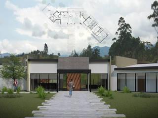 CASA S: Casas de estilo  por Taller Once Arquitectura