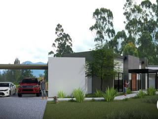 CASA S:  de estilo  por Taller Once Arquitectura