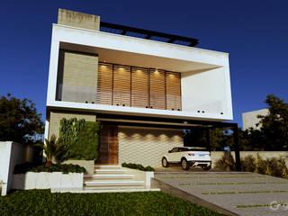 Casa Contemporânea  - Casa AB : Casas  por Gelker Ribeiro Arquitetura | Arquiteto Rio de Janeiro