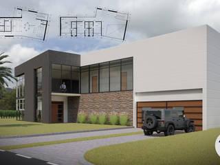 Casa Gómez: Casas de estilo  por Taller Once Arquitectura