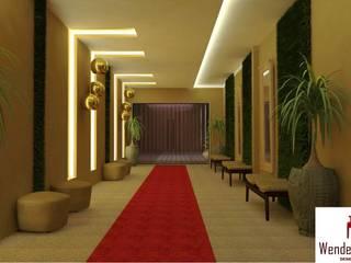 Projeto Comercial - Recepção Shalom (Igarassu) Locais de eventos modernos por Wendely Barbosa - Designer de Interiores Moderno