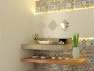 Projeto Residencial - Igarassu Banheiros modernos por Wendely Barbosa - Designer de Interiores Moderno