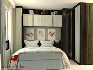 Projeto Residencial - Edf. Pedra do Mar ( Candeias) por Wendely Barbosa - Designer de Interiores Moderno