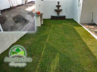 Minimalist style garden by Arquitectura del Paisaje Cedros Minimalist
