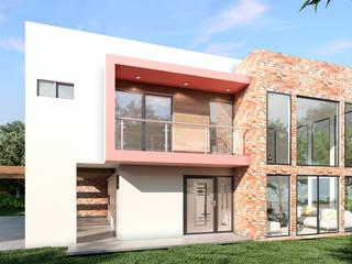 CASA EN EL BOSQUE Casas modernas de DCViarq. Arquitectos Moderno