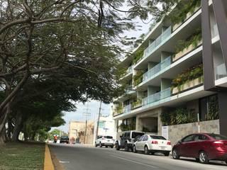 Moderne balkons, veranda's en terrassen van axg arquitectos Modern