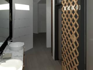 Remodelación Casa Habitación Baños minimalistas de AD Arquitectura Y Construccion Minimalista