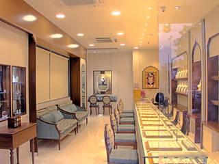 VANUBHAI JEWELLERS Inklets studio Commercial Spaces Brown