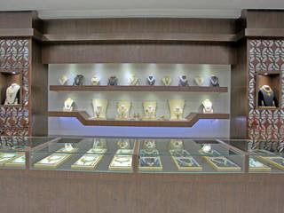 The Billa Zaveri (grand jewelry showroom) Inklets studio Commercial Spaces