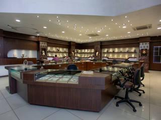 The Billa Zaveri (grand jewelry showroom) by Inklets studio Asian