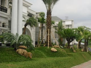 par Tukang Taman Surabaya - Tianggadha-art Méditerranéen