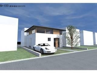 1000万円台の家 の Echizen Ryouta Design Laboratory モダン