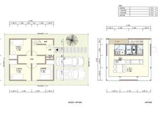 1000万円台の家: Echizen Ryouta Design Laboratoryが手掛けたです。,